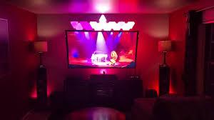 Hue Light Panels Philips Hue Lights And Nanoleaf Aurora Panels Synced To Beyonce