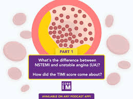 Acute Coronary Syndrome Acs And The Timi Risk Score Core Im Podcast