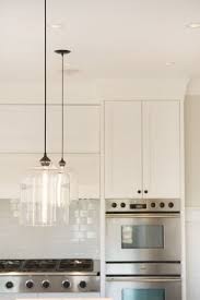 Modern kitchen pendant lights remodel Glass Pendant Lights Over Island Niche Modern Bell Jar Pendant Lights Over Kitchen Island In This Pinterest Contemporary Kitchen Lighting Spotted In Chic Canadian Kitchen
