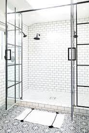 80 Awesome Farmhouse Tile Shower Decor Ideas   Shower doors ...