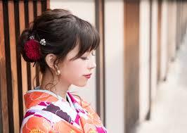 初詣の髪型和装に似合うレトロかわいい着物のヘアカタログ C