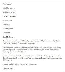 Resignation Letter Envelope Format Resume Pdf Download