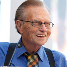 Larry King is a broadcasting institution. Tens of thousands of interviews, ... - Larry-King-220x220