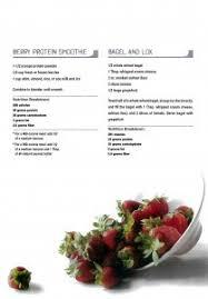 insanity nutrition plan