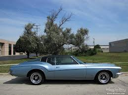 buick riviera 72 side crystal city car