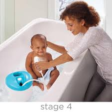 summer infant newborn toddler bath tub center baby spa shower with head toy and jacuzzi in