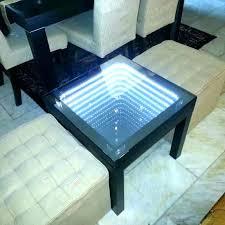 diy infinity mirror infinity mirror full image for infinity mirror table custom hand made coffee h