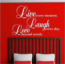 live laugh love vinyl wall art stickers graphics
