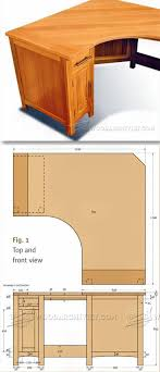 Wood Computer Desk Plans Picture