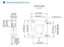 sleeve bearing dc blower fan 5v 12v 24v dc centrifugal fan 51mm sleeve bearing dc blower fan 5v 12v 24v dc centrifugal fan lead wire