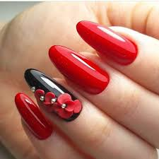 Red Nail Art For Valentines Day Eclectic Stories Of Red Thats