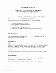 Client Service Agreement Template Lovely Memorandum