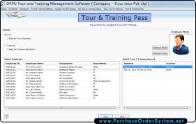 Employee Training Management Tour And Training Management Software Screenshots Staff