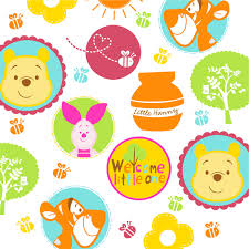 baby winnie the pooh and friends wallpaper images