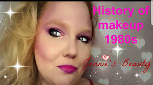 authentic 1980s makeup history of makeup series 1980s