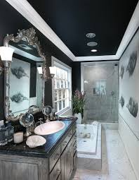 Black Ceilings 20 exquisite bathrooms that unleash the beauty of black 8211 by uwakikaiketsu.us