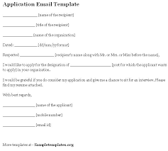 Job Application Email Template Sample Powerful Job Application Email ...
