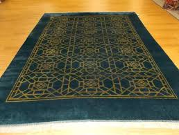 ideal blue and gold rug for blue and gold oriental rug
