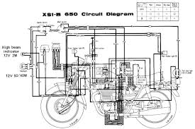 send a wiring diagram for a 1971 yamaha 650xs chopper graphic