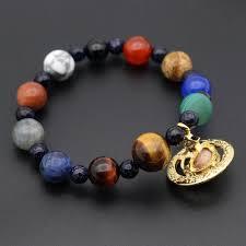 galaxy universe e bracelet nebula cosmic 9 planets solar system saturn pluto earth mercury venus mars