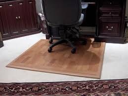 desk chair wood floor. how to make a hard surface desk mat for chair on carpet wood floor o