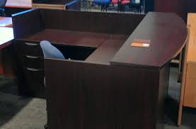 assembled office desks. New Offices To Go Reception Desk $799 Assembled4 Assembled Office Desks
