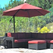 rectangular outdoor umbrella cantilever umbrellas offset clearance led sorbus umbre