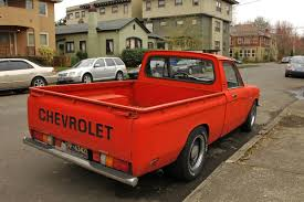 The first car-1973 Chevy Luv truck. Drove that baby from my junior ...