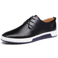 com zzhap men s casual oxford shoes breathable flat fashion sneakers oxfords