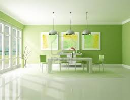 green dining room colors. Minimalist Green Dining Room Design Colors