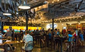 all areas share the same operating hours weather permitting and with seasonal adjustments the event center are rooftop beer garden are available for