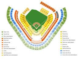 Angel Stadium Seating Chart Angel Stadium Anaheim