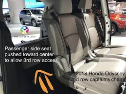 the car seat ladyhonda odyssey the