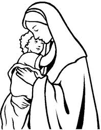 Small Picture 14 best imagens images on Pinterest Drawings Blessed virgin