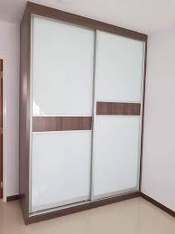 5ft aluminium sliding wardrobe