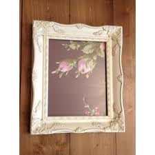 shabby chic ivory a4 size picture frame