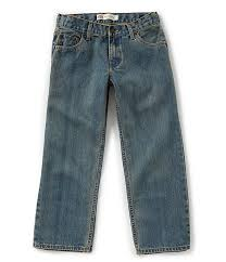 Levis Big Boys 8 20 Husky 550 Relaxed Fit Jeans