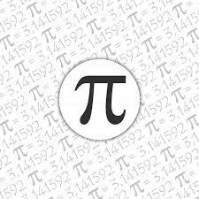 Pi 記号数学定数無理数ギリシャ文字背景 イラストレーションのベクター