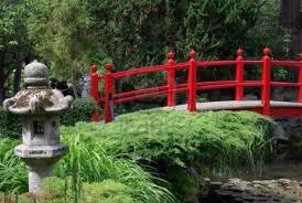 Japanese Style Garden Bridges A Red Bridge In A Japanese Garden In Ireland Japanese Bridges