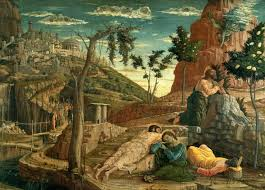 andrea mantegna the agony in the garden 1459 louvre
