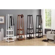decorative coat rack. Fine Decorative Vassen 3Tier Storage Shelf Standing Coat Rack  72 In Decorative