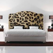 leopard print headboard mural decal headboard wall decal murals for leopard print wall decals picture gallery