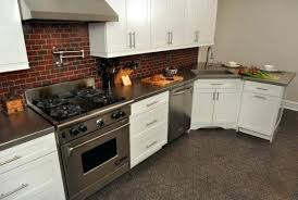 stainless countertops stainless steel countertops cost ikea