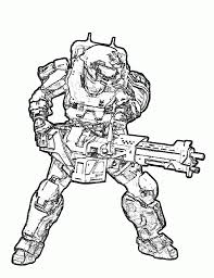 Fortune Halo Spartan Coloring Pages Http Colorings Co 9465 3dnerja