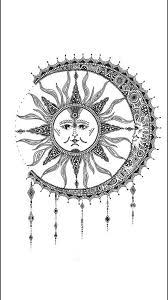 пин от пользователя рожкова эля на доске луна и солнце звёзды
