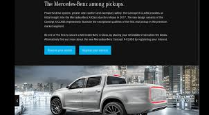 new car release in australiaMercedesBenz XClass order books open in the UK interest growing