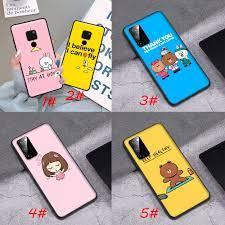 เคสโทรศัพท์มือถือลายการ์ตูนสําหรับ Huawei Nova 2 2 I 3 3 I 4 4 E 5 5 I 5 T  Lite