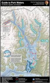 maps  glacier bay national park  preserve (us national park