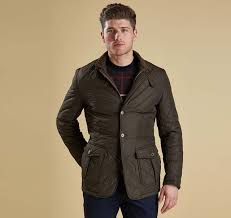 Barbour Olive Jackets Men's Barbour Quilted Lutz Quilted Jacket ... & Barbour Men's Barbour Quilted Lutz Quilted Jacket Olive - MQU0508OL51 Adamdwight.com