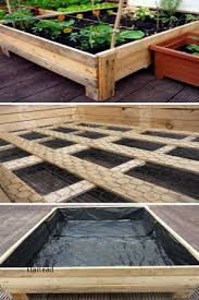 garden flooring ideas top awesome leftover pallet flooring diy plant box project from findmats